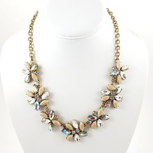 J. Crew Statement Necklace Neutral Colors